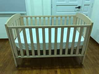 Boori Baby Cot and Matching change table