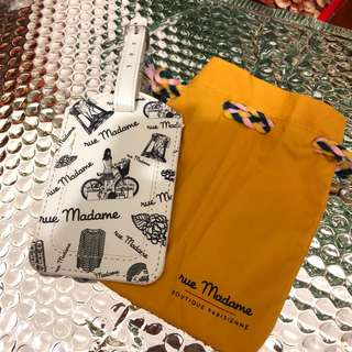 Rue Madame VIP luggage tag 行李牌