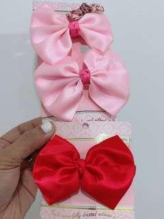 Pinkbox Korean Hair ribbons/Clips/Ties
