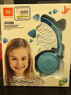 JBL JR300 Blue Kids headset