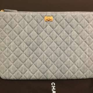 Authentic Chanel 2.55 Denim O case