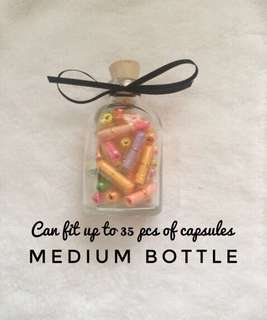 35pcs Message in a bottle