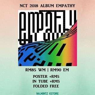 PRE-ORDER NCT 2018 ALBUM EMPATHY