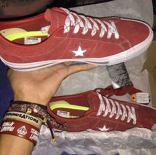 Converse One Star Pro Ox Terra Red