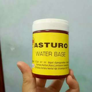 Water base paint