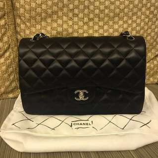 Chanel classic jumbo size 30cm all new bought in Paris with receipt