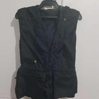 Waterproof hooded vest