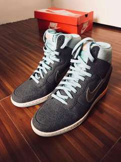 Nike Dunk Sky Hi Premium Wedge Sneakers (with Hologram Swoosh)