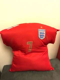 Beckham England cushion