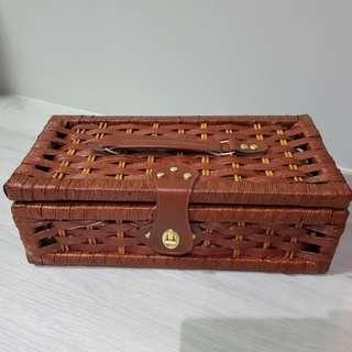 Picnic Wooden Basket