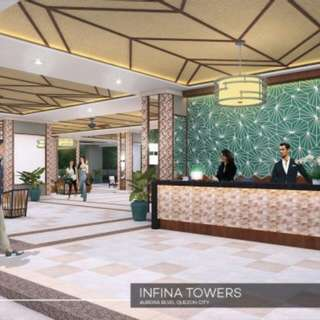 √Pre-Selling PROMO ALERT √INFINA TOWERS Near EastWood,Ortigas Center √Address: 922 Aurora Blvd., Brgy. Marilag Quezon City ,     NCR, 1109 √Resort Style √No Spot Down Payment √OFFERS LOWEST DOWNPAYMENT payable in 42 months √No Hidden Charges