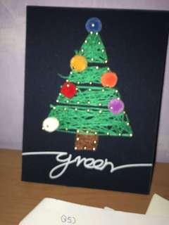 Innisfree Christmas tree craftwork
