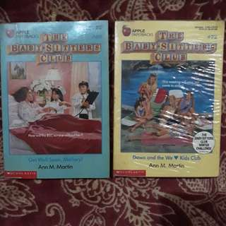 Baby Sitters Club# 69, 72