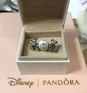 Pandora 香港迪士尼限定Duffy Shelliemay Gelatoni Charm
