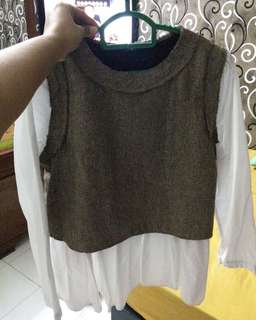 Knitted Top Free Size (S/L)