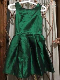 Mini dress green