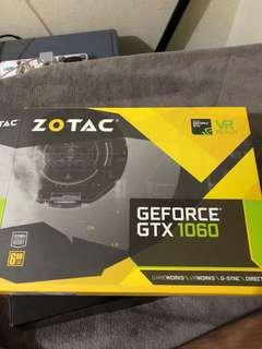 Zotac GeForce GTX 1060 6GB Samsung memory