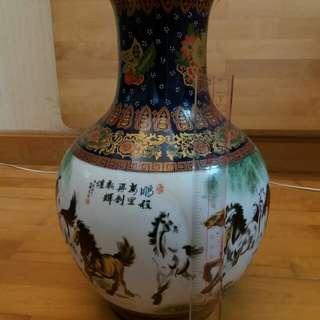 陶瓷駿馬花瓶