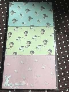 Hoozuki no Reitetsu Post It / Sticky Note