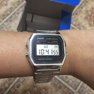 BNEW! Casio A158WA-1DF (unisex)