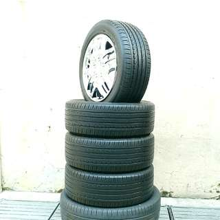 Used 205/55 R16 Goodyear (4pcs) 🙋‍♂️