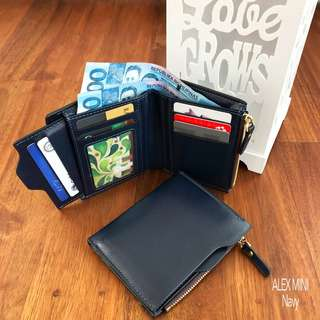 Sale: Mini Foldable Leather Wallet