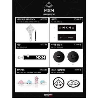 [Interest Check, Let me know by 17 Mar 7pm] MXM Fanmeeting MD Goods