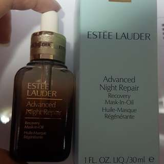 Advanced Night Repair mask in oil