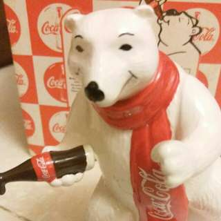 Coca Cola Polar Bear Figurine
