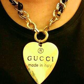 全新Gucci鍍金出口飾物(型格跨張款式)