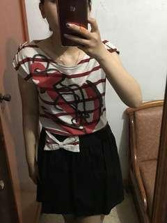 BKK sailor stripes dress
