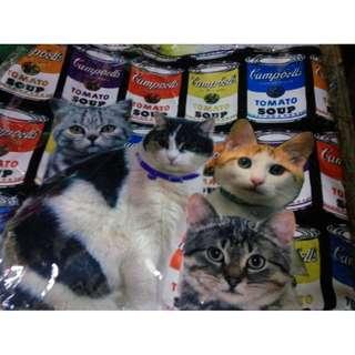 100% New貓咪/花鳥側孭手袋