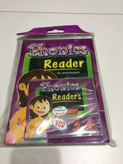 Phonics Readers for Preschoolers (Set 3 & 4)