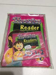 Phonics Readers for Preschoolers Set 1 & 2 (Books & CD)