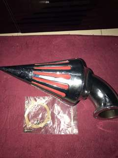 Harley aftermarket air intake