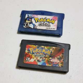 Gameboy Advance Pokemon Games Bundle