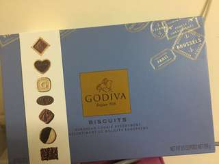 Godiva assorted chocolate biscuits 36pcs