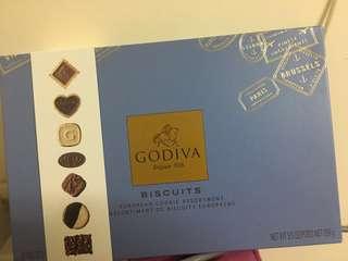 Godiva assorted chocolate biscuits 36pcs