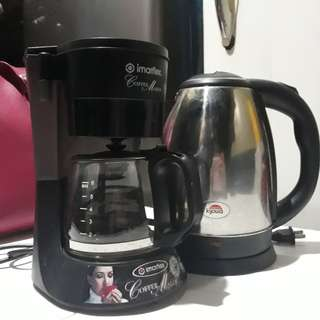 Coffee Maker & Electric Kettle