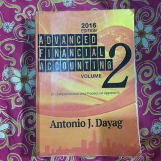 Advanced Financial Accounting 2