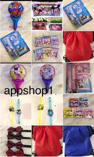 Kids party goody bag, goodies bag packages, door gift with appshop1