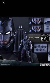 Hot toys Armored Batman Black Chrome BVS