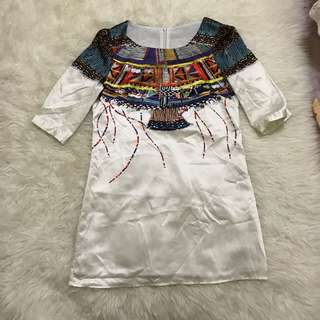Bohemian Silky Dress