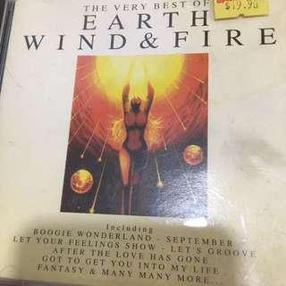 Earth wind fire cd