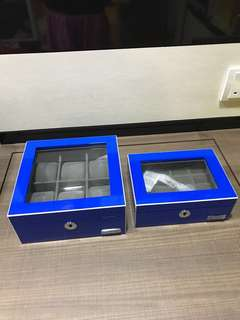 Mitch and Marc watches, jewellery or rings box