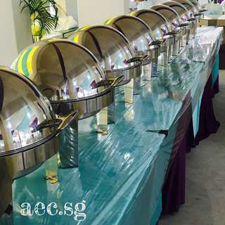 Chaffing Dish , Buffet Tray for Rental