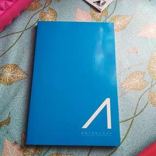 Anthology Blue Blank Notebook