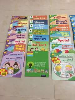 Oxford reading tree Stages 1 to 4