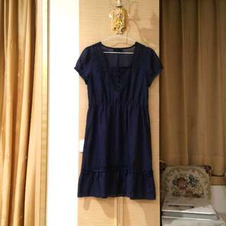 品牌PS深藍色娃娃裝