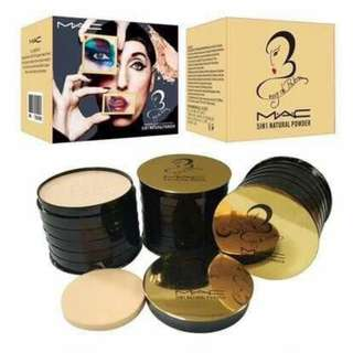 MAC five layers of powder! Five colors! Suitable for any makeup